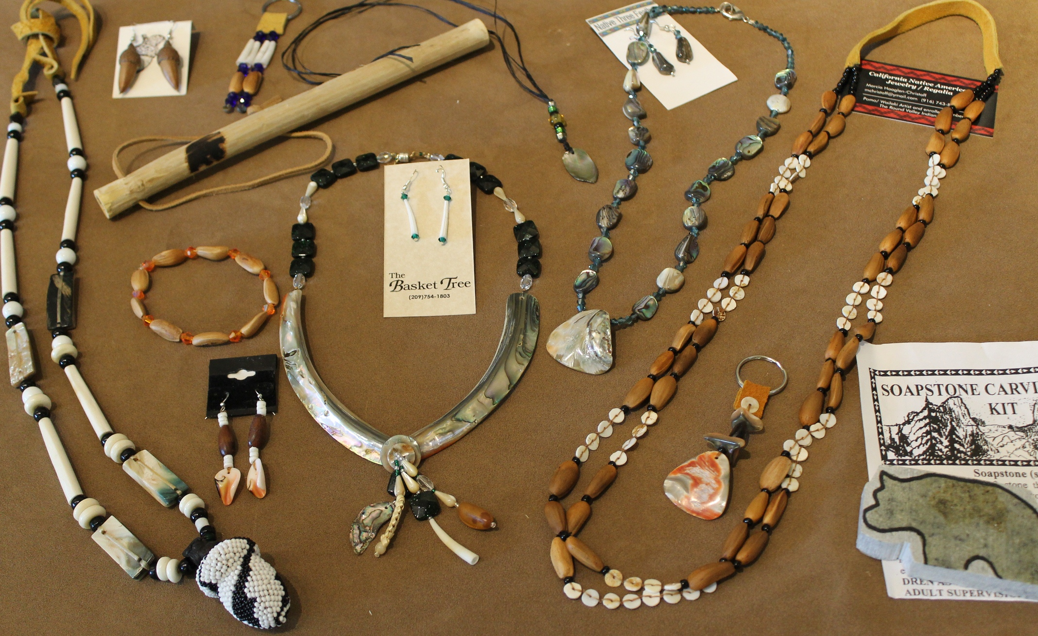 News from native california all nations native craft fair for Native american handmade crafts