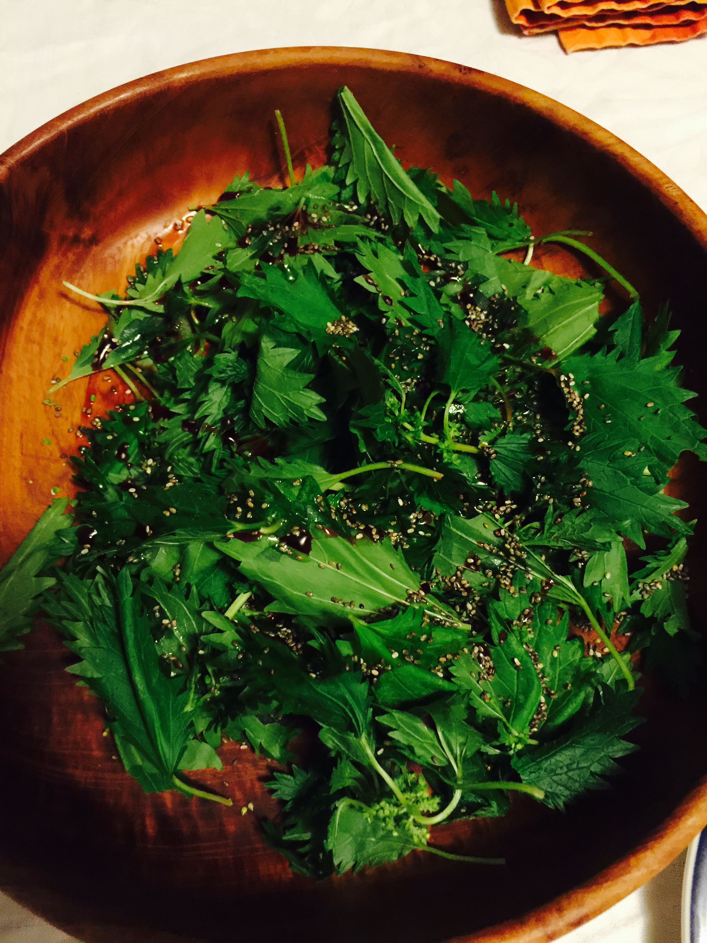 Nettles with Elderberry and Chia